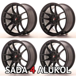 Japan Racing JR29 Black - 17x8 / 17x9 ET35 5x100/114,3 - SADA 4 ALUKOL