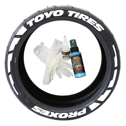 Tirestickers nálepky na pneumatiky - TOYO TIRES PROXES (Frost Edition)