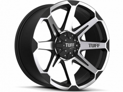 Tuff Machined Black T05 alu kolo pro Dodge RAM - 20x9 6x139.7 ET20