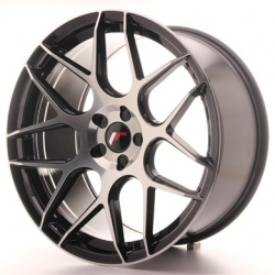 Japan Racing JR18 - 20x10 ET20 - 40 5x108 - 5x120, barva Black Mach