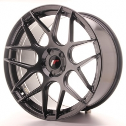 Japan Racing JR18 - 20x10 ET20 - 40 5x108 - 5x120, barva Hiper Black