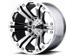 XD Series Chrome XD778 Monster alu kolo pro Dodge RAM - 20x9 6x139.7 ET18