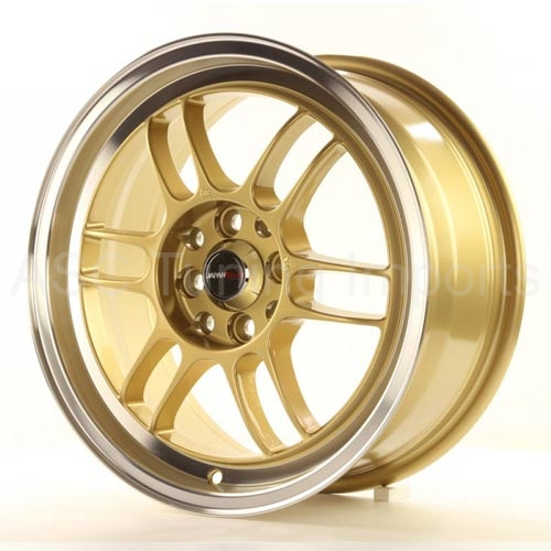 Japan Racing JR7 - 16x7 ET38 4x100/114,3 Gold