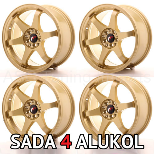 Japan Racing JR3 Gold - 17x8 ET35 5x100/114,3 - SADA 4 ALUKOL