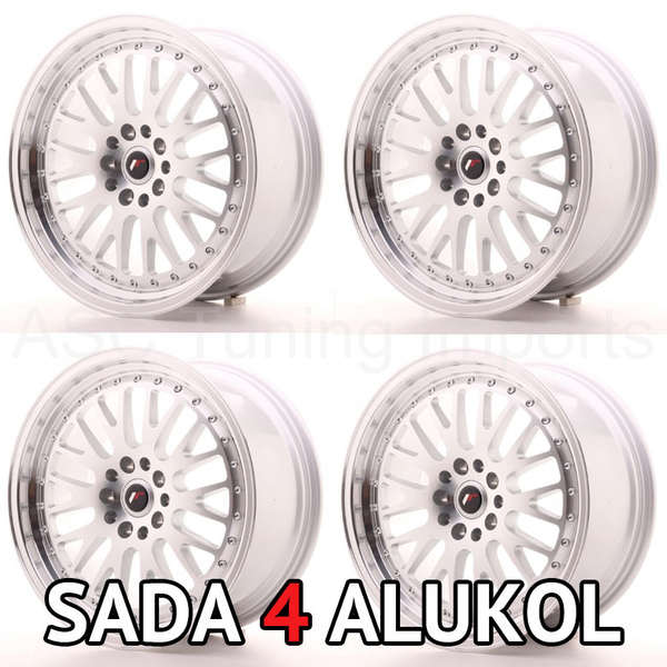 Japan Racing JR10 - 18x8,5 ET35 5x100/112 Silver Machined - SADA 4 ALUKOL